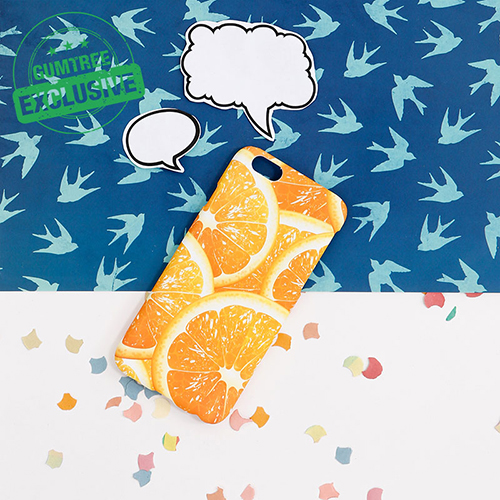 2. Orange phone Case ($14)