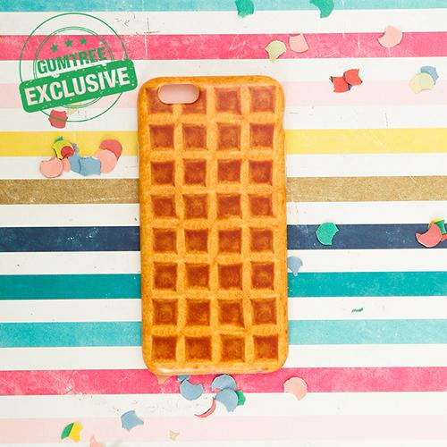 4. Waffle Phone Case ($16)