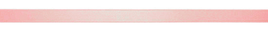 pink horizontal ribbon with bow isolated